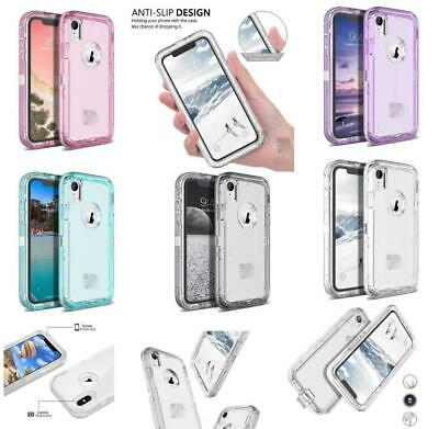 Clear Defender Transparent Case For Samsung Galaxy / IPhone [Clip Fits Otterbox]