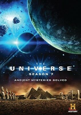 THE UNIVERSE SEASON 7 ANCIENT MYSTERIES SOLVED New Sealed DVD History Channel