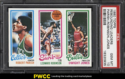 1980 Topps Basketball Robert Parish Robinson Dwight Jones PSA 10 GEM MINT (PWCC)