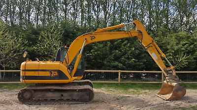 2006 Jcb Js130 Groundworker 15 Ton Excavator/ Digger With 3X Buckets