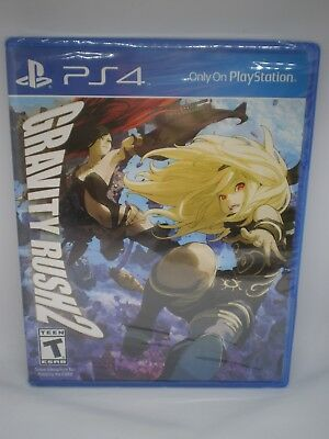 NIP SEALED GRAVITY RUSH 2 VIDEO GAME for PS4 PLAYSTATION 4