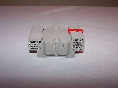 Square D 8501Nr34 Relay Socket New In Box Lot Of 11
