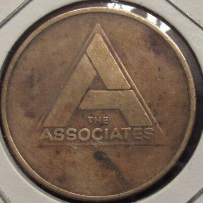 Vintage The Associates Credit Token - A Gulf + Western Company - Gas Fuel Oil