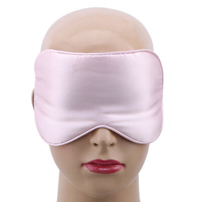 Double-layer  Mulberry Silk Eye mask Shading Eye Silk Travel Sleeping Aid Tool S