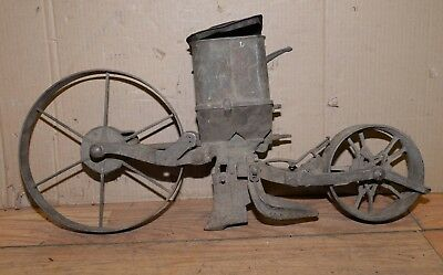 Planet Jr No 4 vintage seeder planter cultivator 1900's collectible garden tool