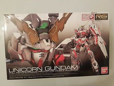 Bandai Hobby RG 1/144 Unicorn Gundam UC Model Kit Figur