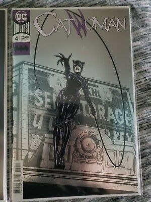 Catwoman #4 Foil Cover 10/10/18 (DC Comics, 2018) NM 1st Print and variant cover