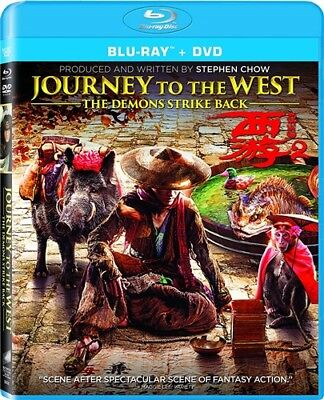 JOURNEY TO THE WEST THE DEMONS STRIKE BACK New Sealed Blu-ray + DVD