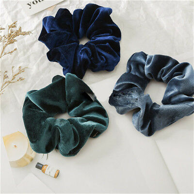 Hair Accessories Women Girls Fashion Rope Dance Bulk Elastic Hair Scrunchies D