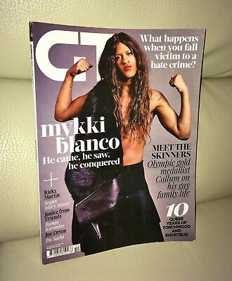 GT Gay Times Magazine October 2016 Issue Mykki Blanco Cover LGBT Gay Interest