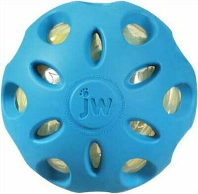 JW Pet Crackle Heads Crackle Ball Dog Toy Large