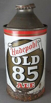 Hudepohl Old 85 Ale cone top with cap