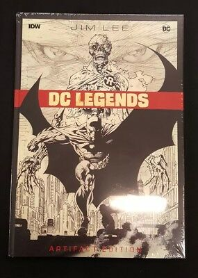 Jim Lee's DC Legends HC IDW Artifact Edition #1 1ST Print 2019 Sealed