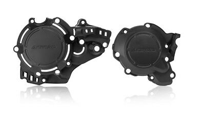 Acerbis X-Power Engine Clutch Ignition Covers Black For KTM/Husqvarna 2726840001
