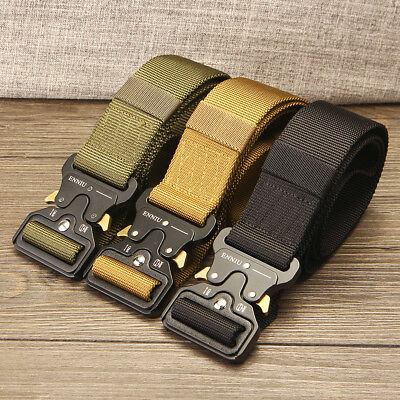 Outdoor Hiking Waistband Security Guard Paramedic Army Tactical Waist Belt Strap