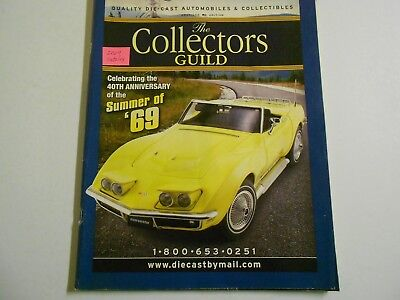 3 used vintage catalogs by The Collectors Guild: 2009,2011 & 2012