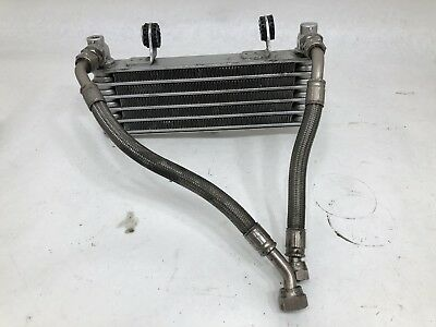 OEM Ducati 748 916 996 Engine Motor Oil Cooler Radiator with Lines Hoses Pipes