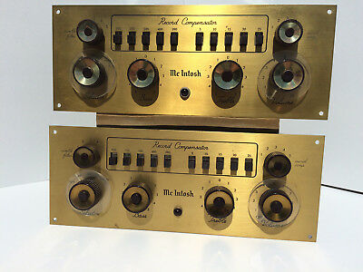 Pair McIntosh  C8 Tube preamp PreAmplifier All Original