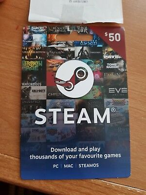$50 Steam Voucher - Gift Card