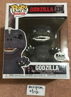 Funko Pop! Godzilla Books A Million Bam Exclusive 239