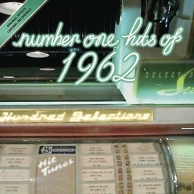 GREATEST NO 1 HITS 1962 ~ NEW SEALED CD  Birthday Gift, Party, Anniversary Music