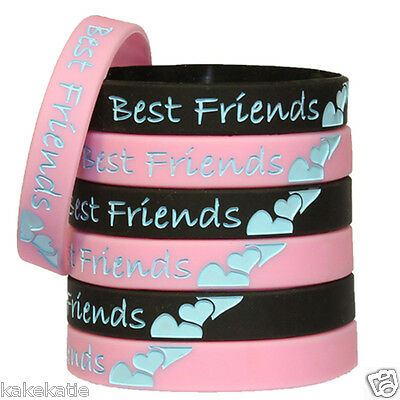 Best Forever Friend Polsiera in Silicone Bracciale/Braccialetto Idea Regalo Alla
