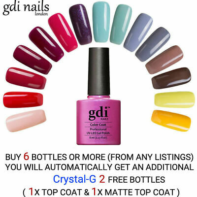 gdi nails Classic Soak Off Salon UV/LED Gel Nail Polish UK SELLER