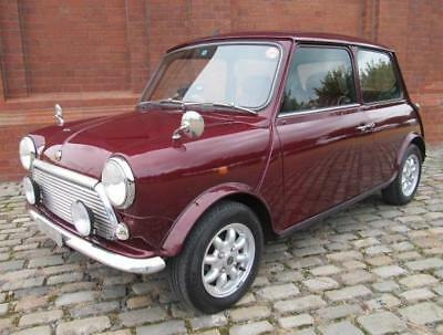 Rover Mini Rare Cooper Classic Mini 40Th Anniversary Edition In Mulberry