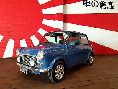 Rover Mini Rare Cooper Classic Mini 40Th Anniversary Edition In Island Blue