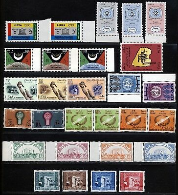 LIBYA 1960 's STAMPS ISSUES IN SETS & SINGLES MNH.     A83