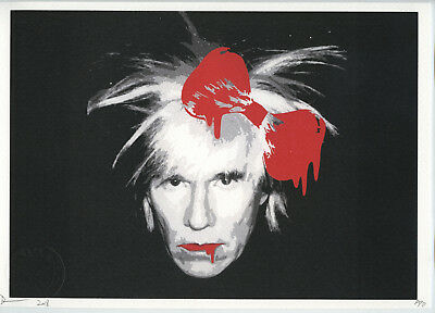 2018 Andy Warhol Pop Street-Art Death Nyc Usa Sérigraphie Signée Artist Proof Ap