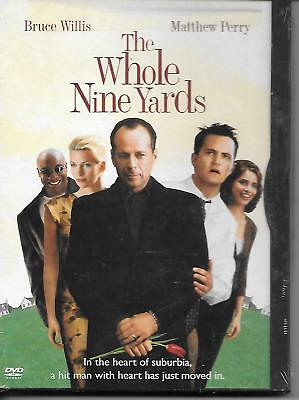 THE WHOLE NINE YARDS DVD Bruce Willis, Matthew Perry SNAP CASE