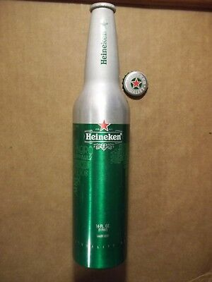 16 oz. Heineken Aluminum Bottle / Beer Can  -  Imported  -  FREE SHIPPING in USA