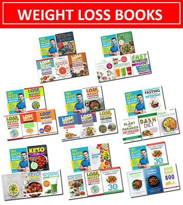 Diet Bible Intermittent Fasting Whole Food 101 Ways to Lose Weight Books set NEW