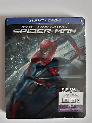 BLURAY Coffret  STEELBOOK The Amzing Spider-Man - Neuf sous blister.