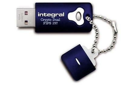 Integral 16Gb Aes-256 Usb Drive Crypto Total Lock