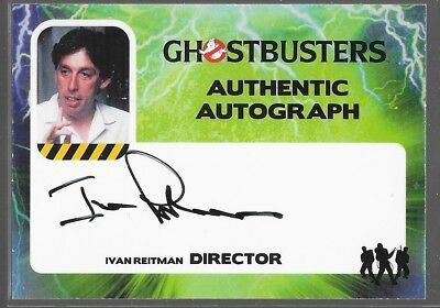 Cryptozoic Ghostbusters Auto Ivan Reitman Director IR