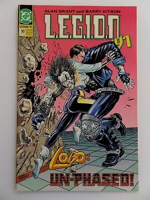 "Legion #30 (Dc 1991) ~~Lobo~~ ""un-Phased"" ~~"