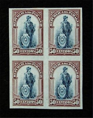nystamps Paraguay Stamp # 206 Mint H Proof Cards