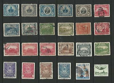 y7139 D'Haiti A Small Collection Early & Modern Lhm Used