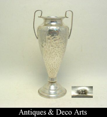 925 Sterling Hammered Silver Trophy Cup