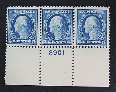 CKStamps: US Stamps Collection Scott#504 5c Block Mint NH OG