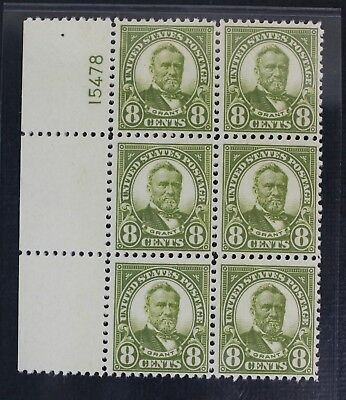 CKStamps: US Stamps Collection Scott#560 8c Block Mint 5NH 1HR OG