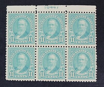 CKStamps: US Stamps Collection Scott#563 11c Block Mint NH OG Perfs Separated