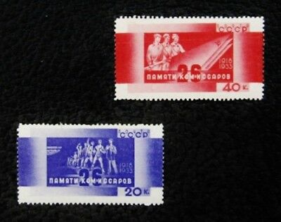 nystamps Russia Stamp # 521 523 Mint OG H $68