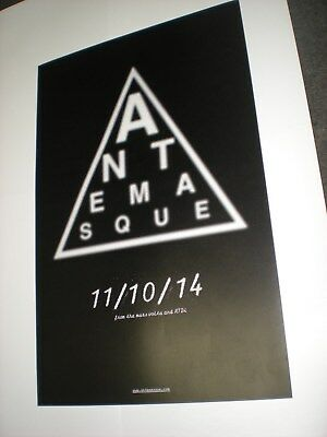 POSTERS lot by ANTEMASQUE mars volta For the BANDS promo atdi tour album cd *