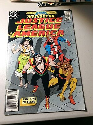 Justice League Of America #258-#261  1987 Legends Crossover