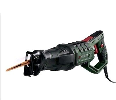 Parkside sabre saw PFS 710 D3 6 amp 10 foot cord New with case 3 year warranty