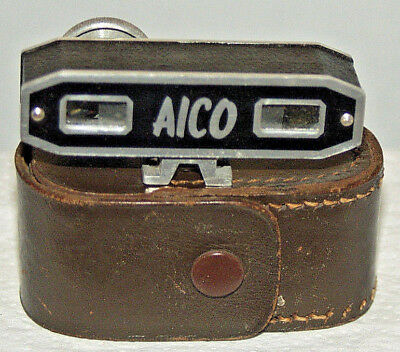 Aico Auxiliary Shoe-fit Rangefinder - Imperial Measurements and Leather Case