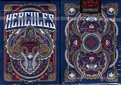 Hercules Limited Edition Playing Cards Poker Size Deck USPCC Custom Number Seal
